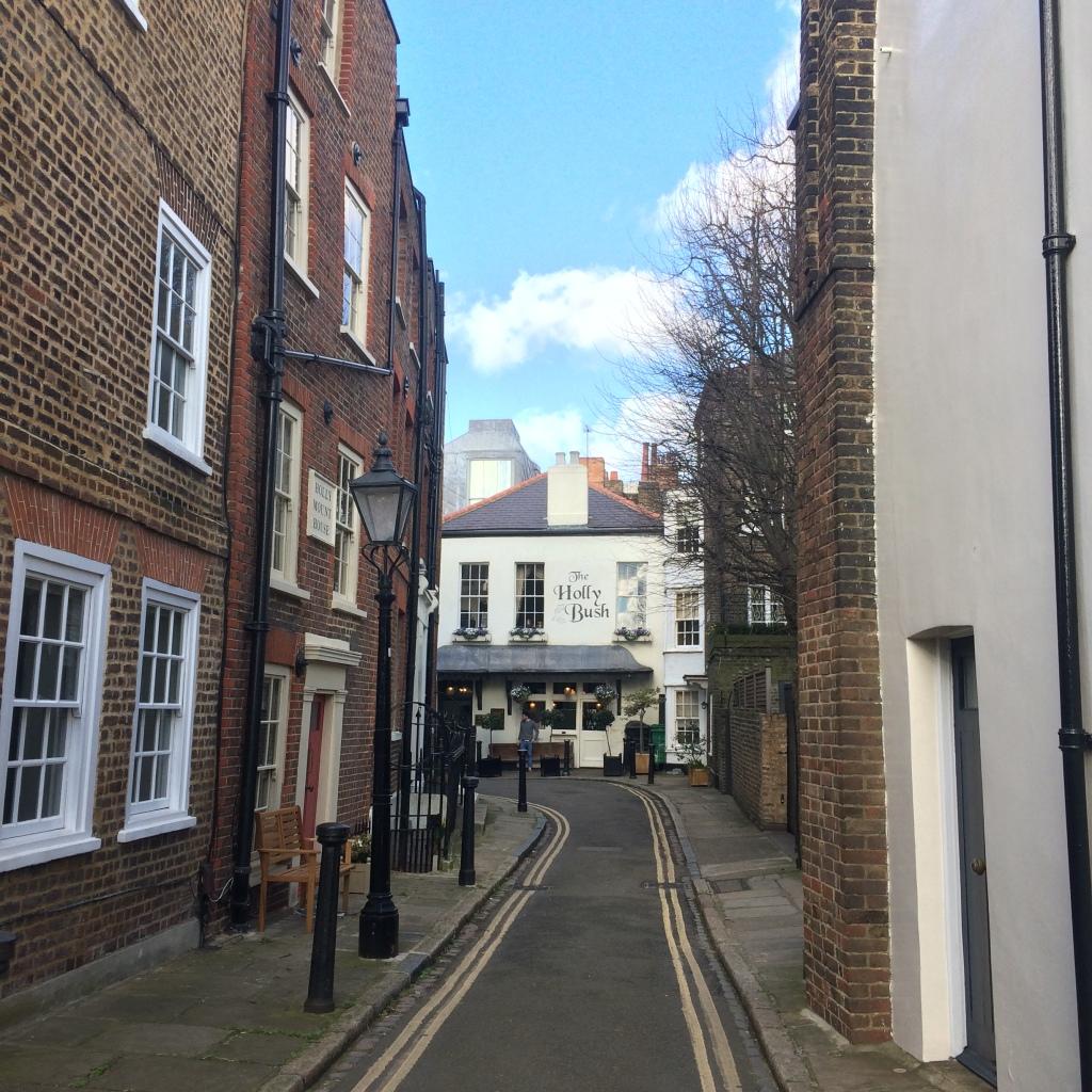 Um tour por Hampstead, Londres - The Holly Bush Pub