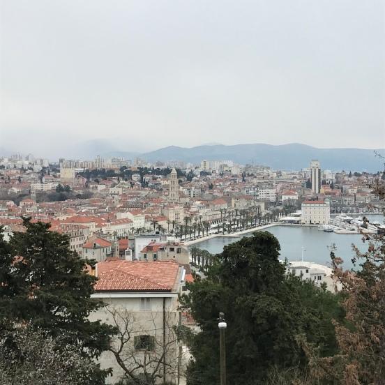 Monte Marjan em Split